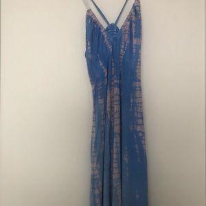 Gypsy Tye Dye Maxi Dress